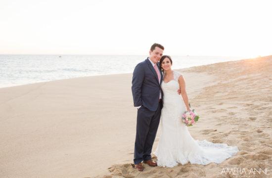 Wedding Couple on Cabo Beach
